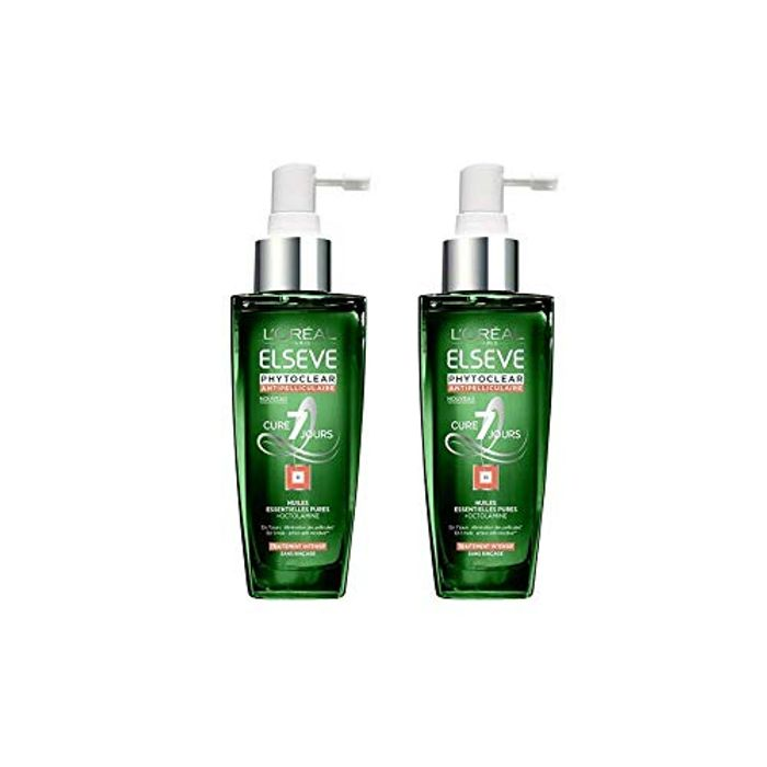2X L'Oreal Elvive Phytoclear AntiDandruff Scalp Lotion 100ml FREE DELIVERY