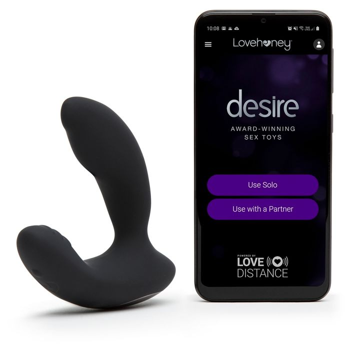 Desire Luxury App Controlled Rechargeable Prostate Vibrator