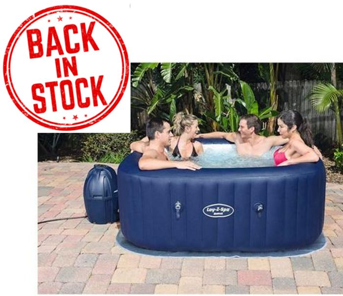 IN STOCK NOW AT VERY! Lay-Z-Spa Hawaii AirJet