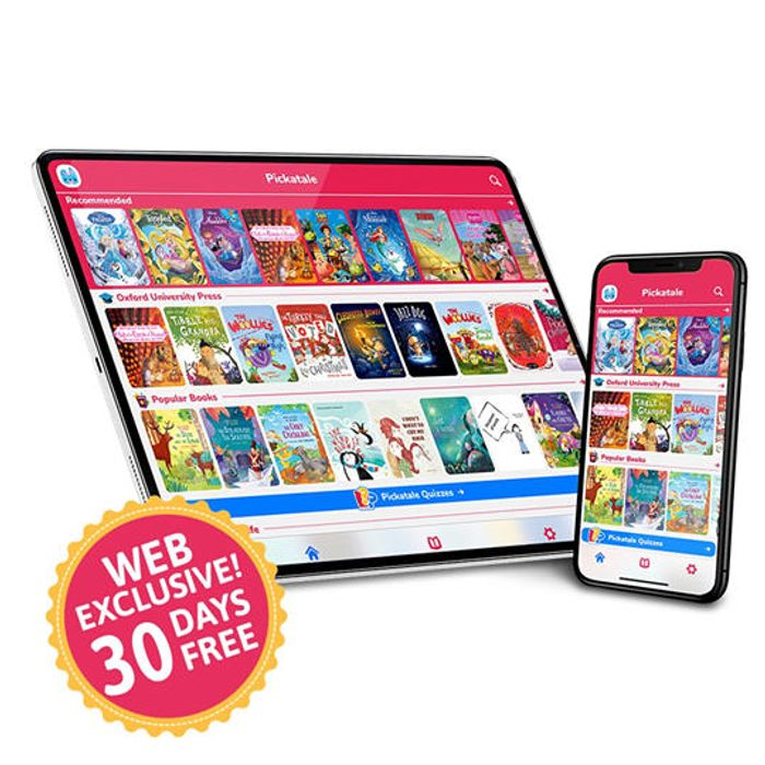 Pickatale 30 Days Free Access to over 1000 Books for Kids