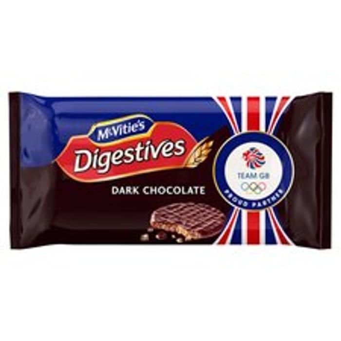 Mcvities Dark Chocolate Digestive Twin 2X316g