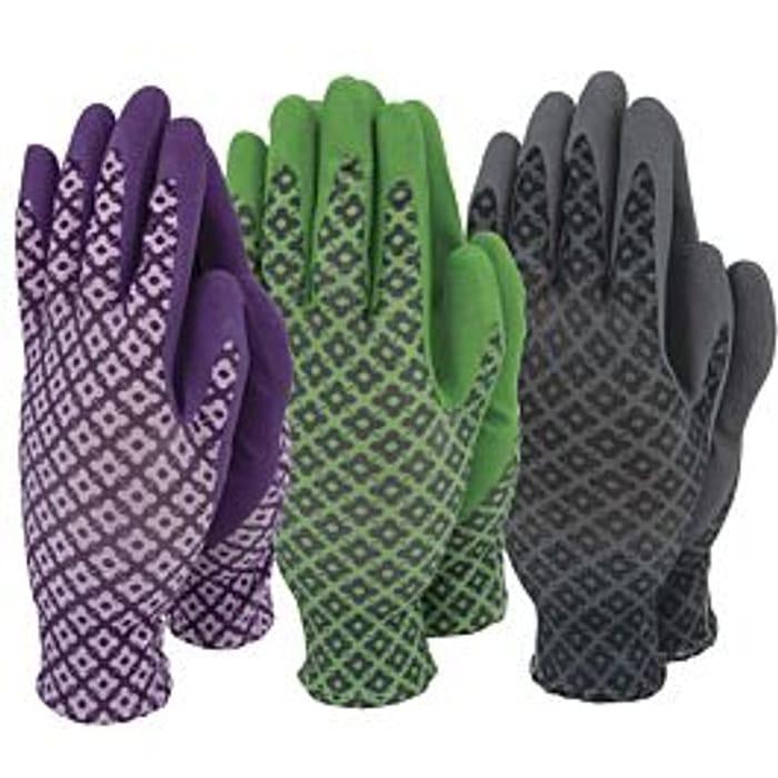 Town & Country Ladies FlexiGrip Gloves - Triple Pack
