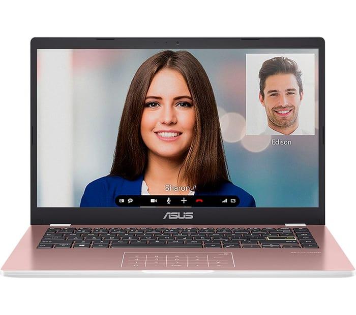 "ASUS 14"" Laptop - Intel Celeron, 64 GB EMMC Rose Gold with £50 Discount!"