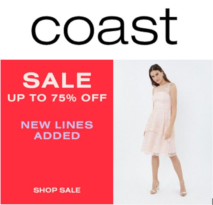 COAST SALE - up to 75% off COAST