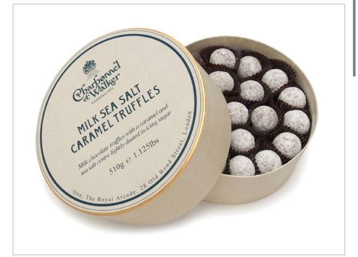 30% off These 510g of Milk Sea Salt Caramels at Charbonnel