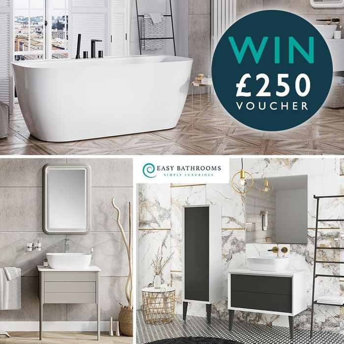 Win a £250 Voucher for Easy Bathrooms! *Warrington*