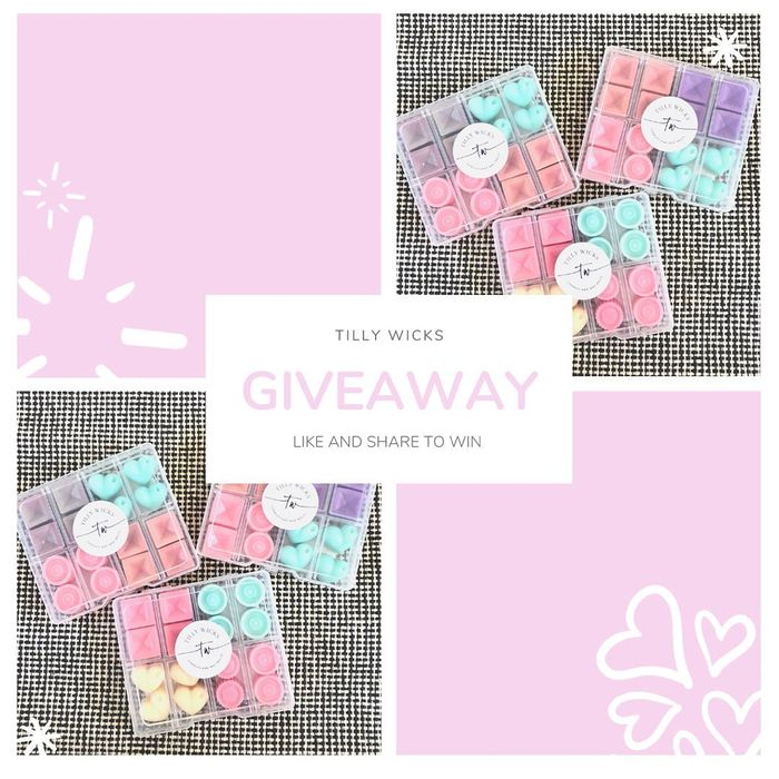 Win Two Wax Melt Tester Sets from Tilly Wicks!