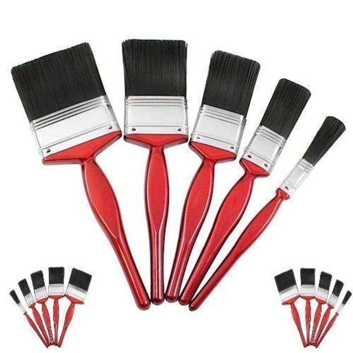 Bizwizz 5pc Professional Paint Brushes with Nice Bristle Paintbrush