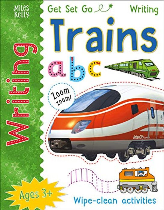 Get Set Go Writing: Trains Paperback 1 Mar. 2017