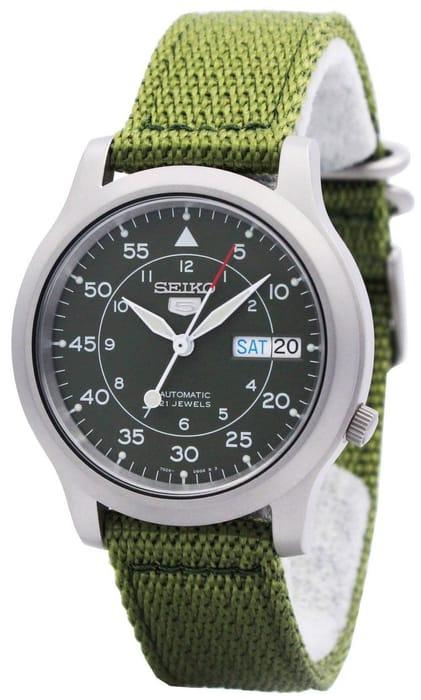 Seiko 5 Military Automatic Nylon SNK805K2 Watch