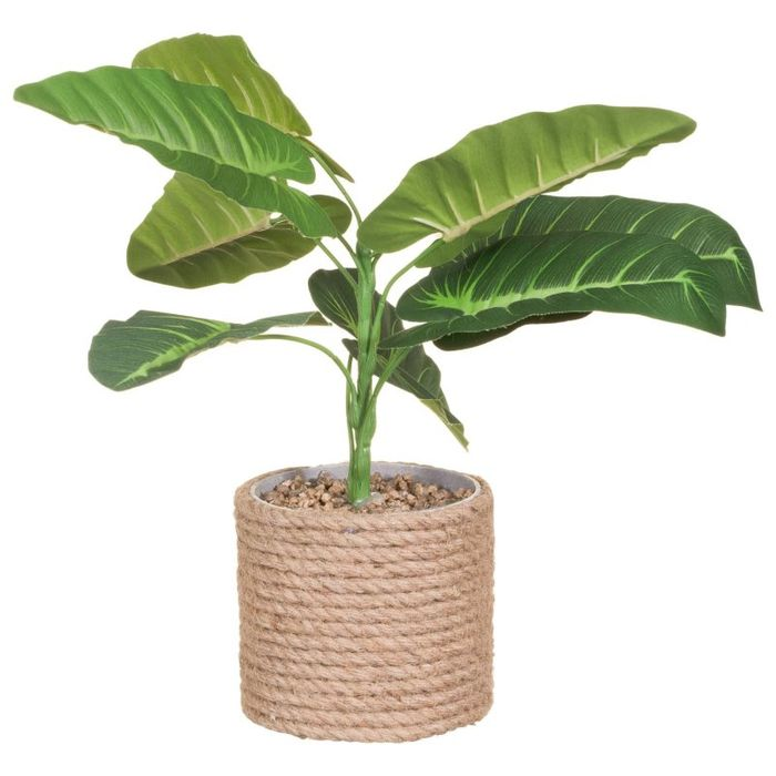 Artificial Plant in Rope Pot