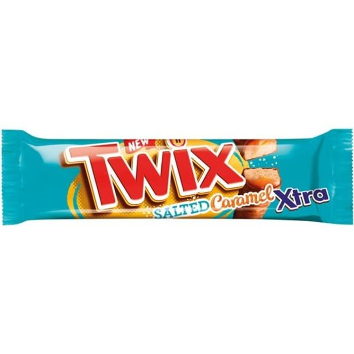 CASE of 24 Twix Xtra SALTED CARAMEL