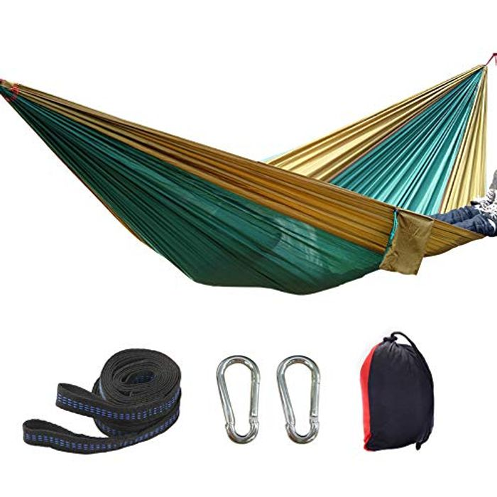 Cheap None Branded Ultra-Light Travel Camping Hammock - Only £12.99