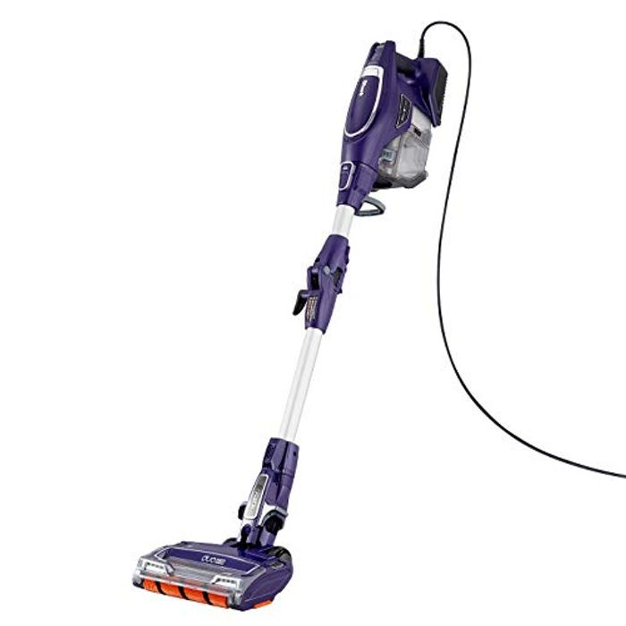 *SAVE over £129* Shark Corded Stick Vacuum Cleaner Lightweight, Purple