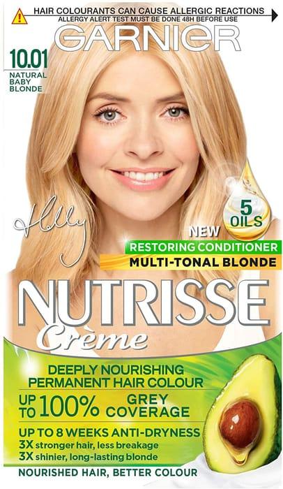 Garnier Nutrisse Creme Hair Colour - Natural Baby Blonde