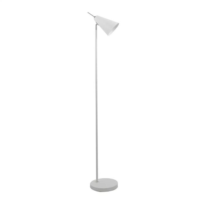 Debenhams - White 'Andrew' Floor Lamp - Save £42