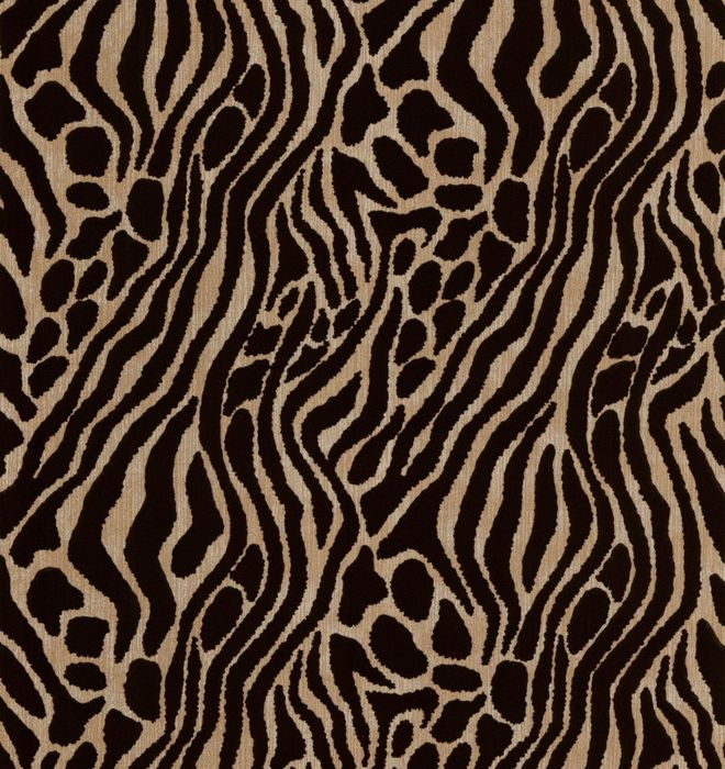 Julien Macdonald - Gold Easy Tiger Wallpaper - Save £70