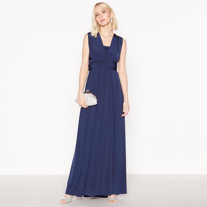 Debut - Navy Multiway Maxi Dress - Save £74