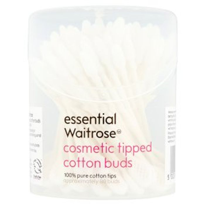 Essential Waitrose Cosmetic Tipped Buds 80s HALF PRICE