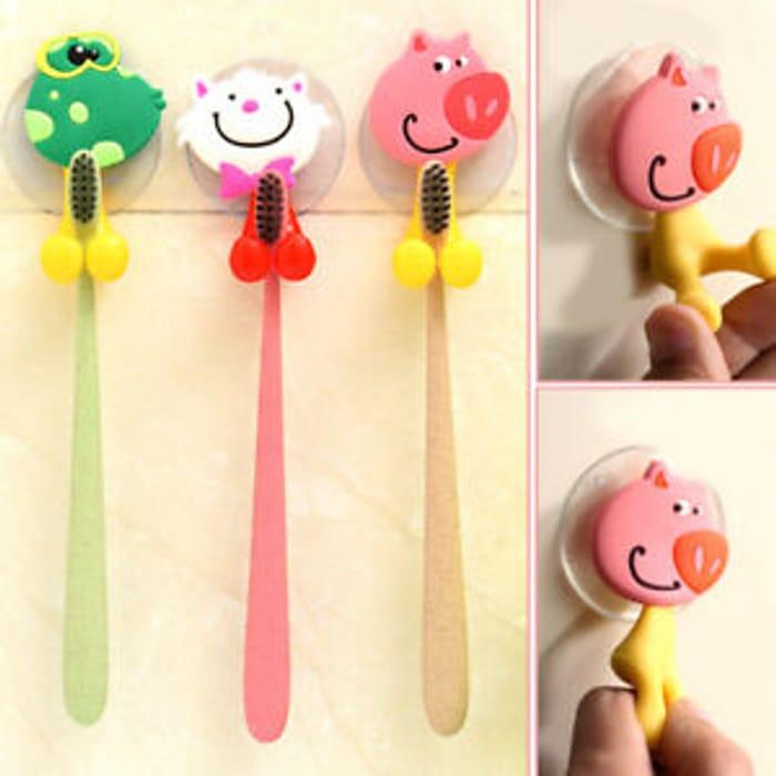 Cartoon Animal Shape Toothbrush Holder - Only £1.59!
