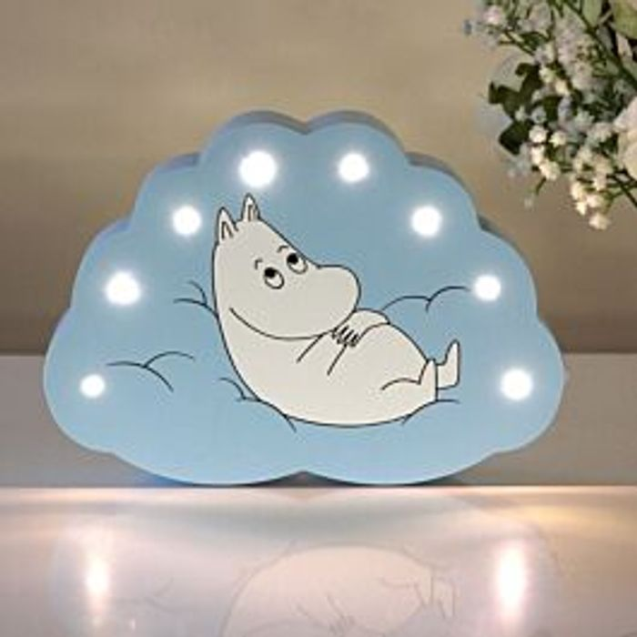 Disaster Designs Moomin Blue Cloud Light - Only £12.48!
