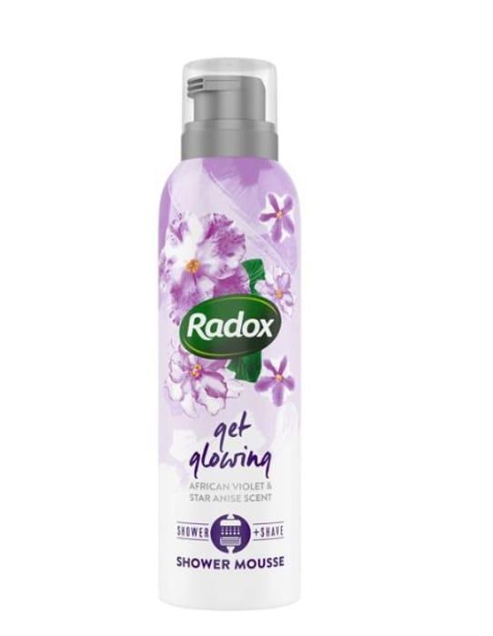 Radox Get Glowing Shower Mousse at Superdrug