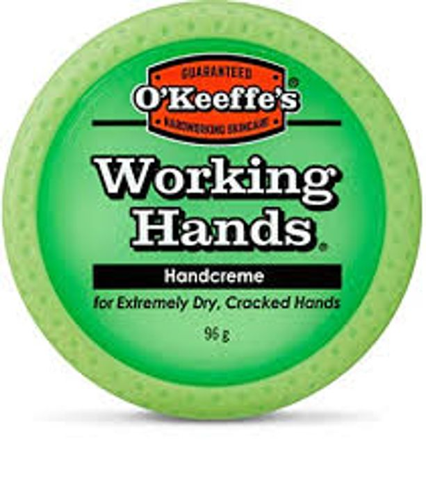 OKeeffe's Working Hands Jar 96g at Boots