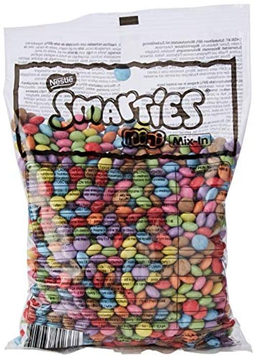 New Low Price! NESTLE Mini Smarties in Chocolate Bag, 500 G