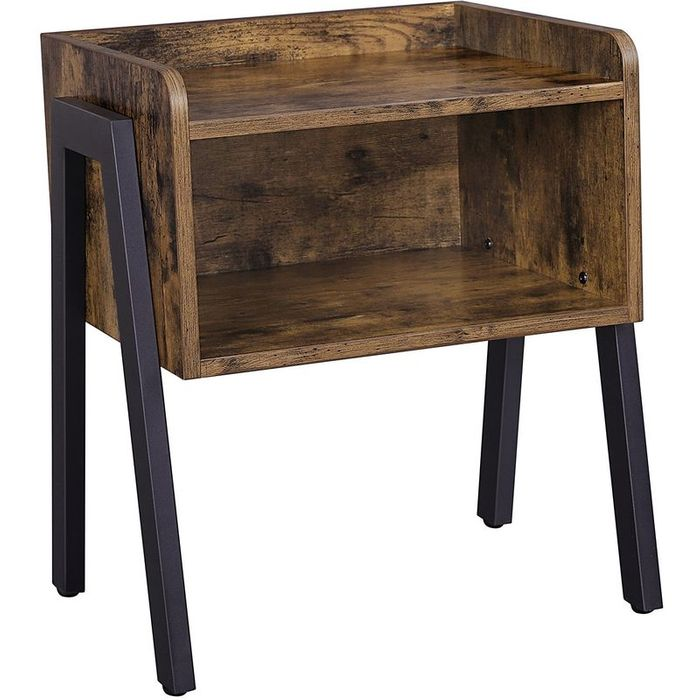 VASAGLE Side Table, Industrial Nightstand(Free Delivery)