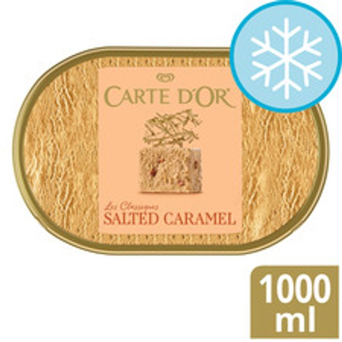 Carte D'Or Ice Cream 1L - All Varities