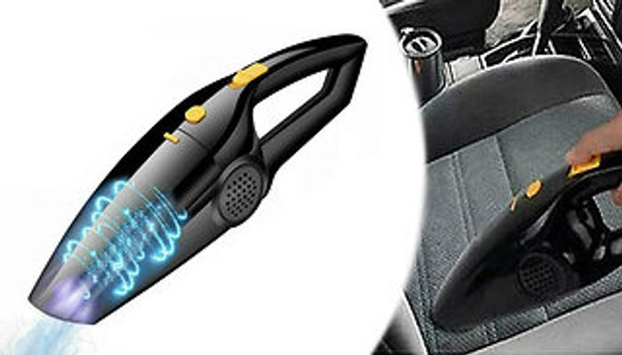 120W Handheld Car Vacuum Cleaner + EXTRA 10% Off