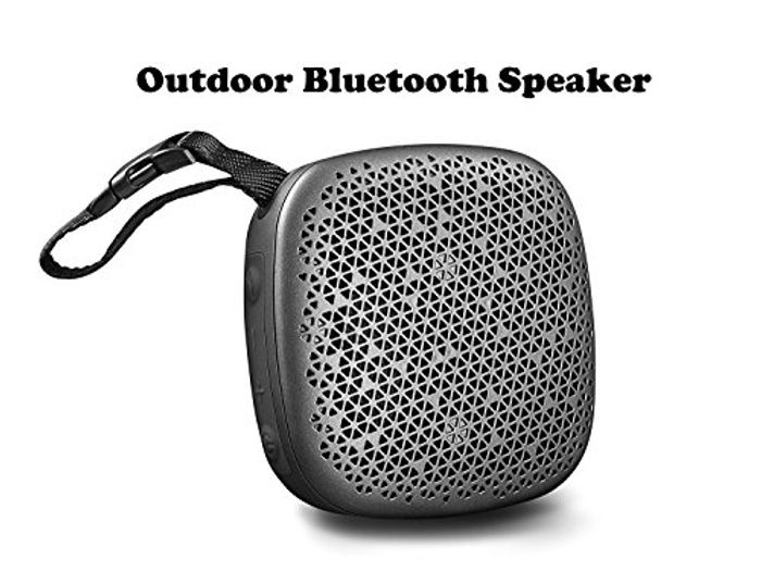 Save 50% on Outdoor Wireless Speakers with Enhanced Bass & 10H Playtime