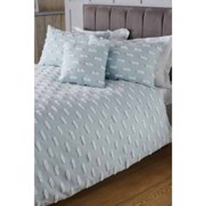 Tuffted Voile Duvet Set - Double