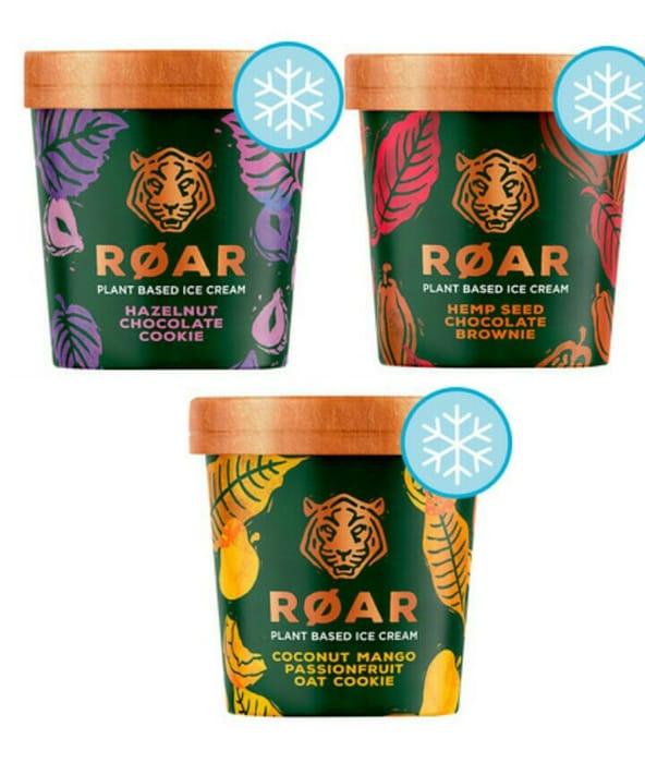Roar Plant Based Ice Cream 500Ml (All Varieties)