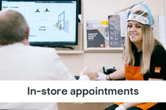 Book a Free Planning Appointment at B&Q