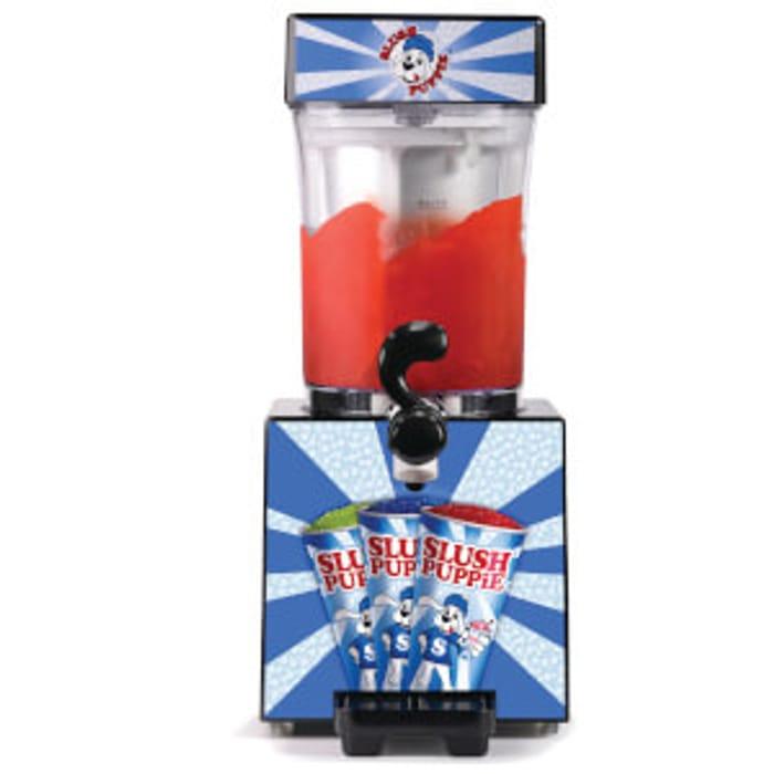 Get a FREE Bottle of Cola Slush Puppie Syrup When You Buy Slush Puppie Machine