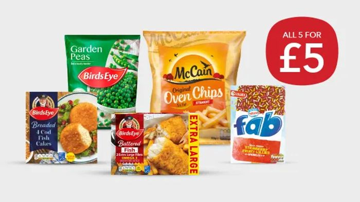 NEW! Co-Op Freezer Filler Meal Deal - Save £7.55!