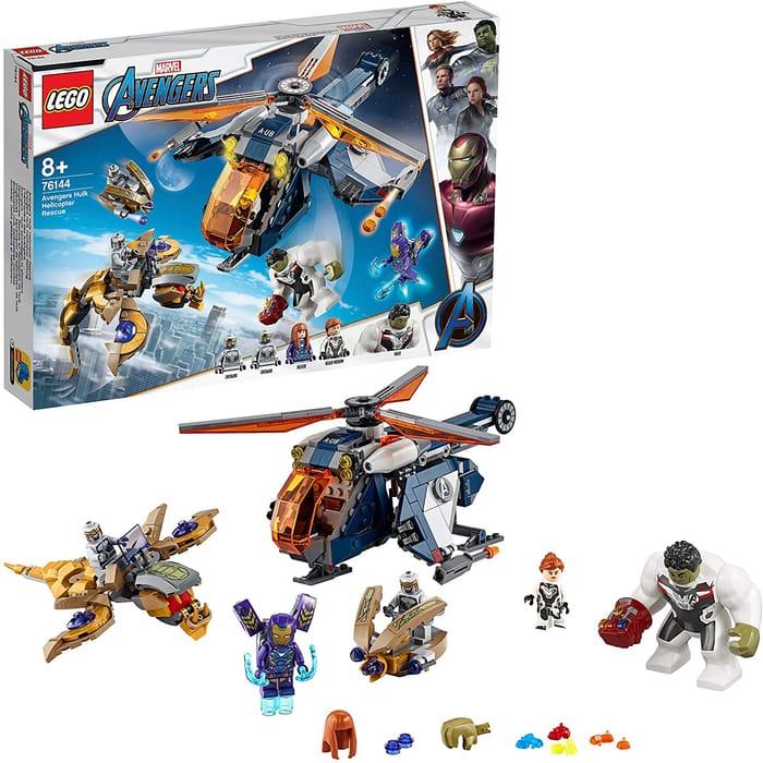 SAVE £18.50 - LEGO Marvel Avengers - Hulk Helicopter Rescue (76144)