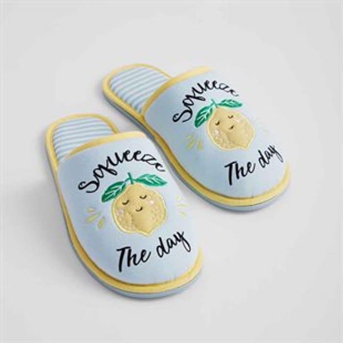Lemon Slippers!