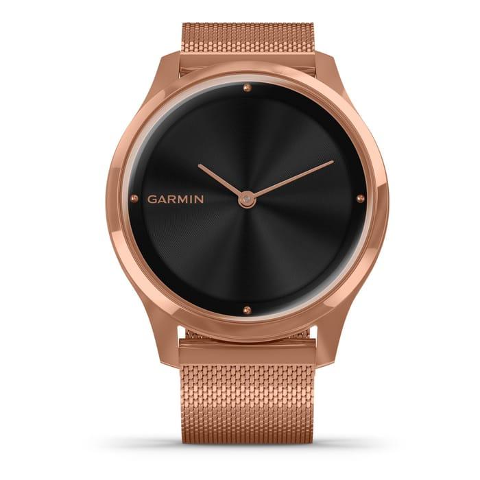 Garmin Vivomove Luxe Rose Gold Plated Smartwatch