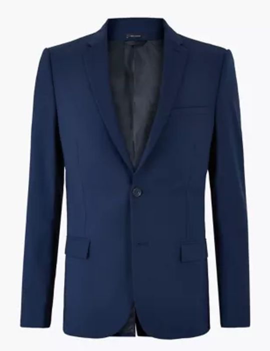 The Ultimate Blue Skinny Fit Jacket