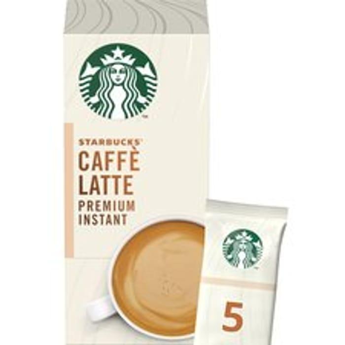 Starbucks Caffe Latte Premium Instant Sachets