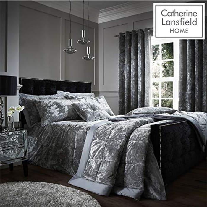 Velvet Double Bed Set