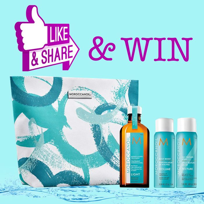 Win a Moroccan Oil Set with a Travel Bag!