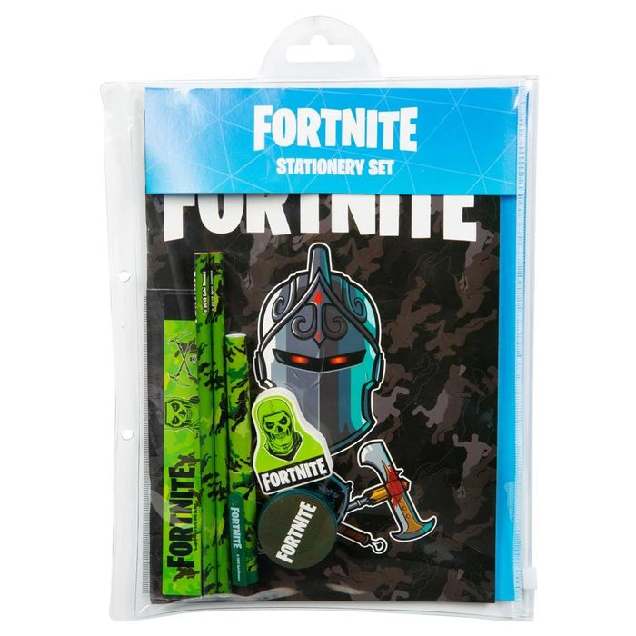 Back to School - Fortnite 7pc Stationery Set (£2.99 Unlimited Post)