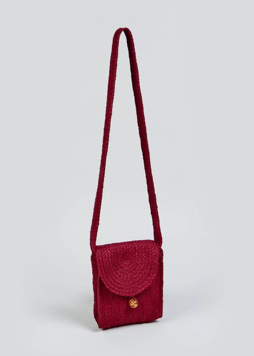 Jute Cross Body Bag Down From £12.5 to £3