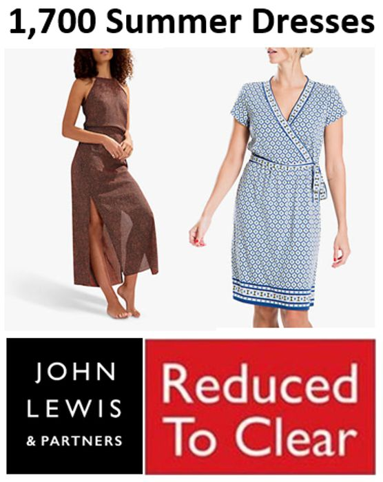 1,700 Summer Dresses - REDUCED TO CLEAR - John Lewis