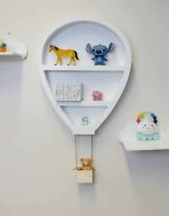 White Hot Air Balloon Shelf - Only £15.99!