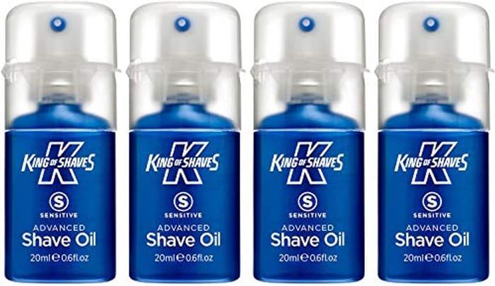 King of Shaves Sensitive Advanced Shaving Oil at Amazon