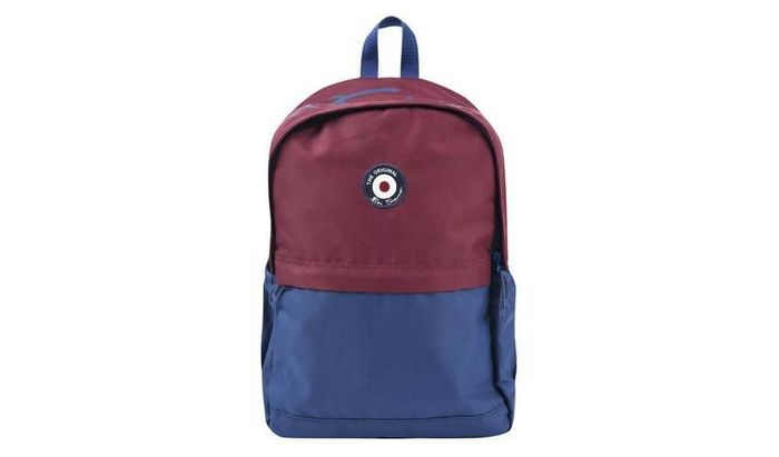 Ben Sherman 14L Backpack - Navy Blue and Red